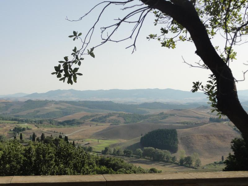 view of Tuscan hills