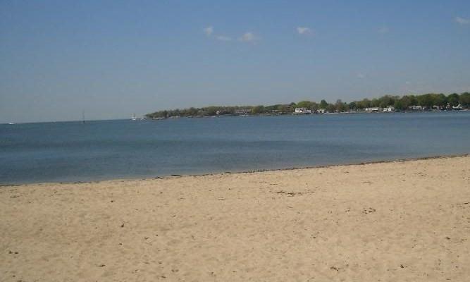 Take a refreshing dip in Long Island Sound