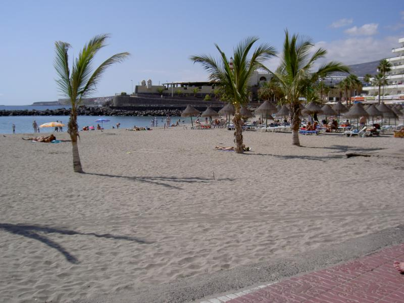Puerto Colon beach in the evening - just a 10 minute drive away