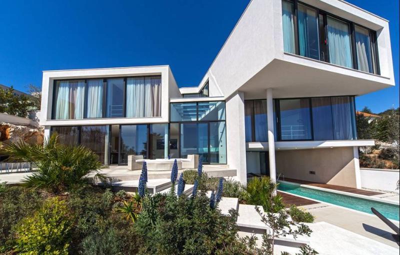 Villa from outside terrace