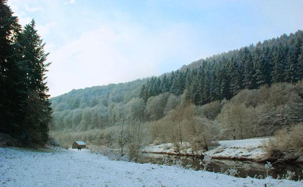 River Wye (5 minute walk from Spring Cottage)
