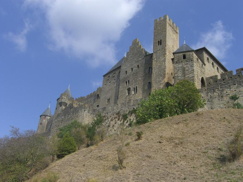 The old city of Carcassonne