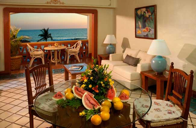 Pueblo Bonito Mazatlan Ocean View Living Area