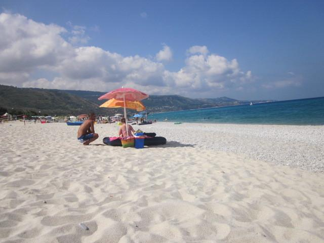 Zambrone beach -  beautiful sand, beautiful sea, beautiful weather. Fantastic!