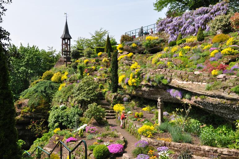 La Grotte Saint Vit jardin alpestre - Saverne