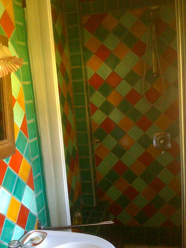 Shower in the indian house