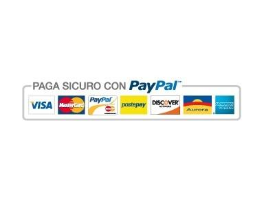 Pay securely using PayPal. PayPal is a guarantee for the customer: all you have is your chargeback!