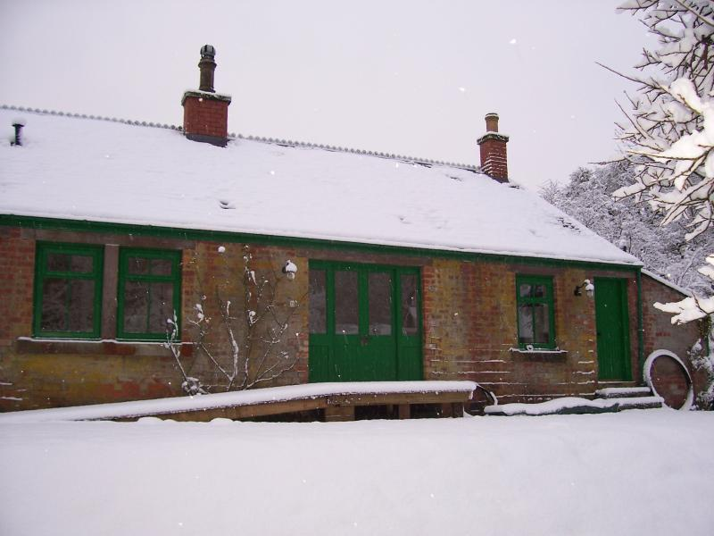 The Bothy under a snowy blanket