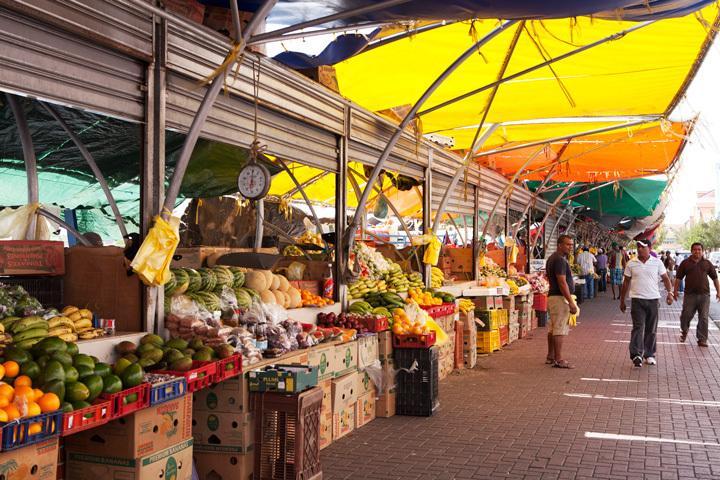 Floating market at Punda, Willemstad