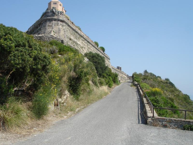 the walls of the Rocca
