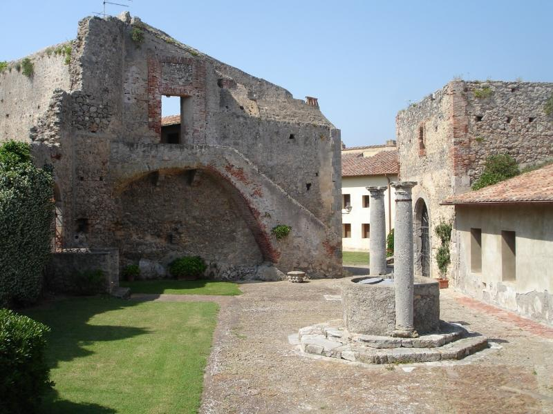courtyard of the Rocca