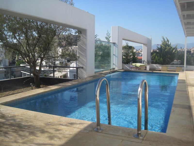 Parthenon View -  private terrace and Pool