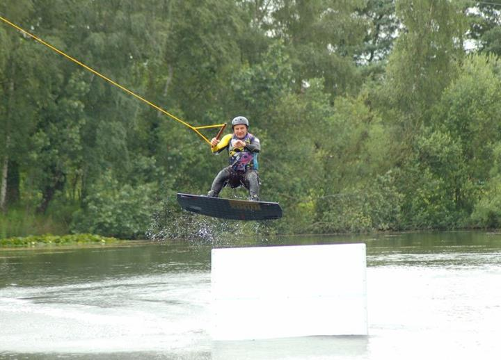 Why not try the Wake Board Zip Wire?