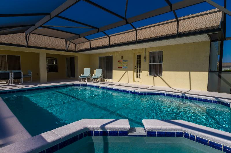 Large pool just waiting for you to enjoy....