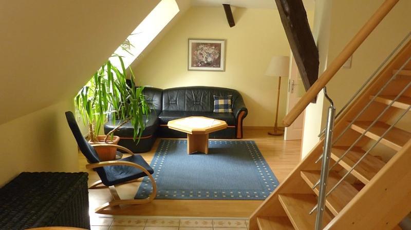 Wohnzimmer Maisonette-Wohnung