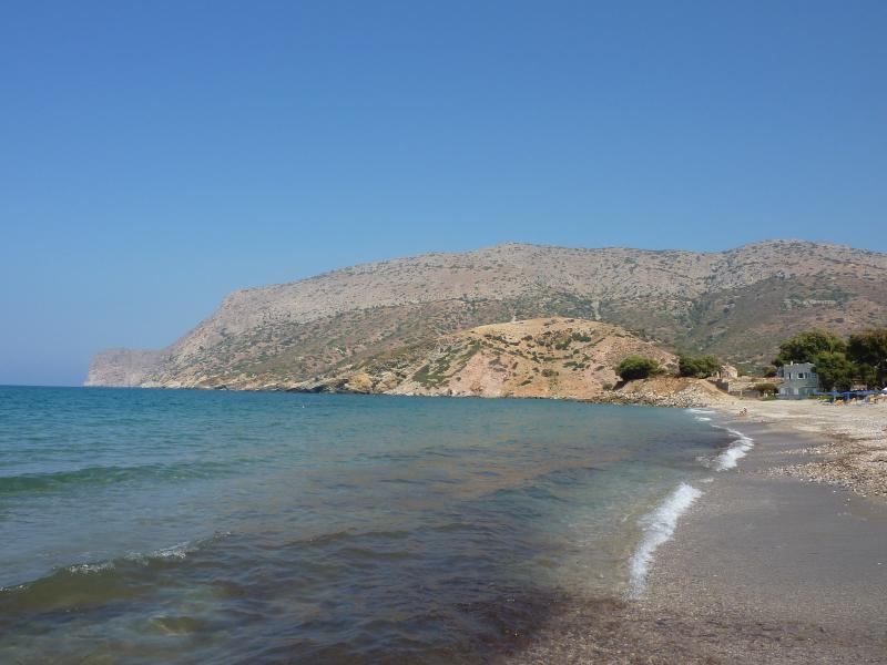 Fodele beach is 2 miles from the village