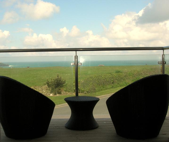 View from The Spacious Sea Facing Balcony