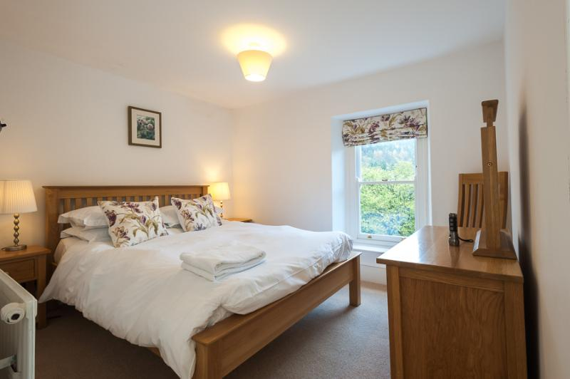 Master Bedroom, lovely views across the valley