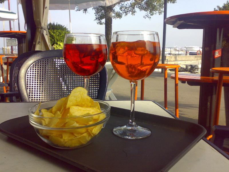 Taste the PIRLO down at the port with a beautiful view! Don't miss it!