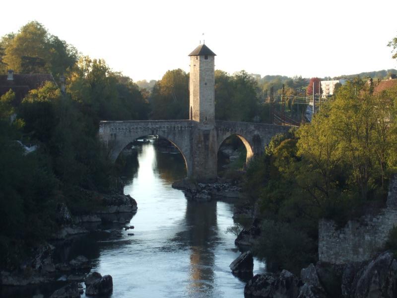 The old bridge in Orthez