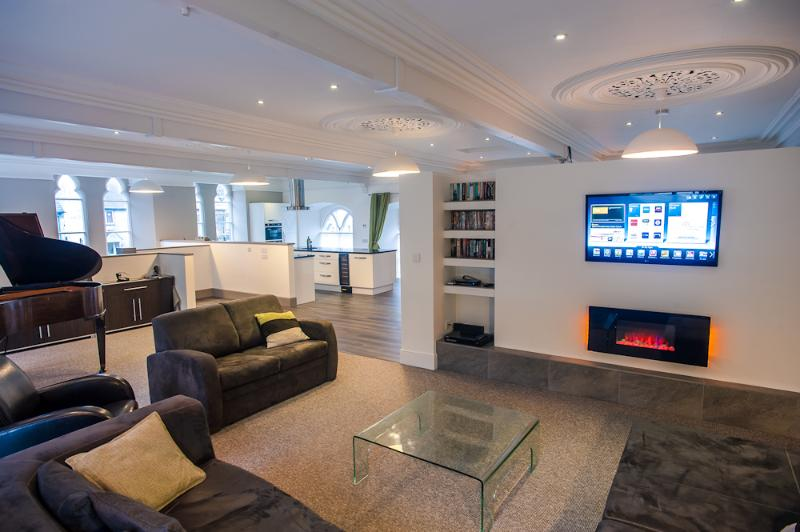 Fabulous open plan living area