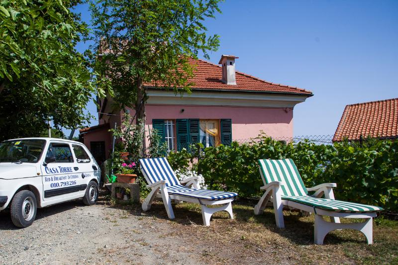 B&B Casa Torre Camera 1, holiday rental in Ronco Scrivia
