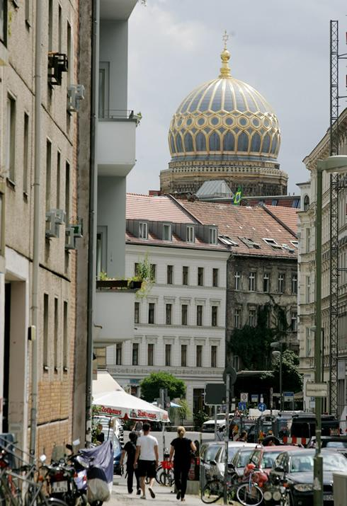 o apartamento é no centro de Mitte, a parte mais histórica da área