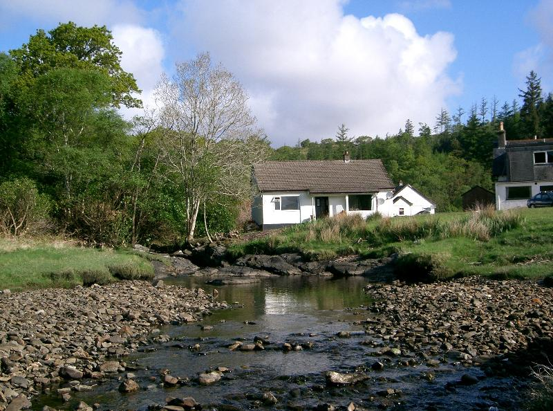Loch View Cottage from the front.