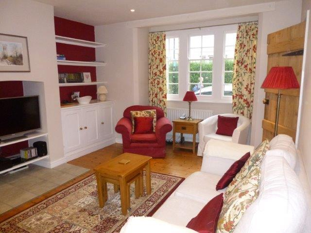 Tastefully decorated, light and airy open plan living space