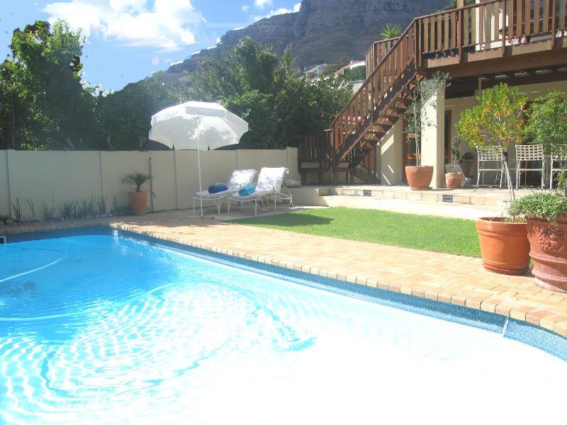 Pool area  Villa