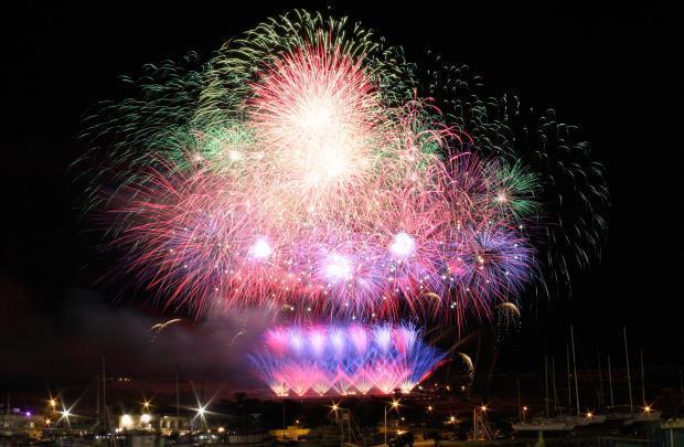 Summer fireworks Festivals