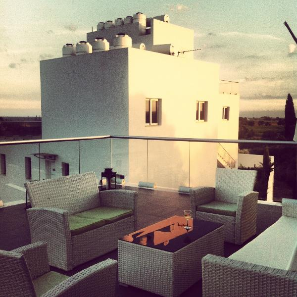 Penthouse Terrace at sunset