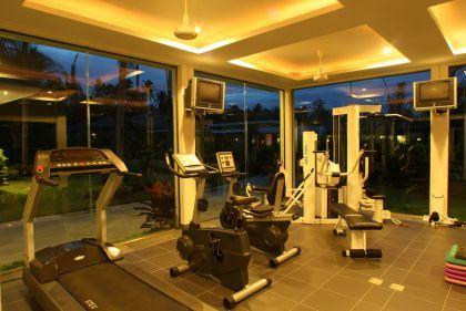 On site gymnasium available