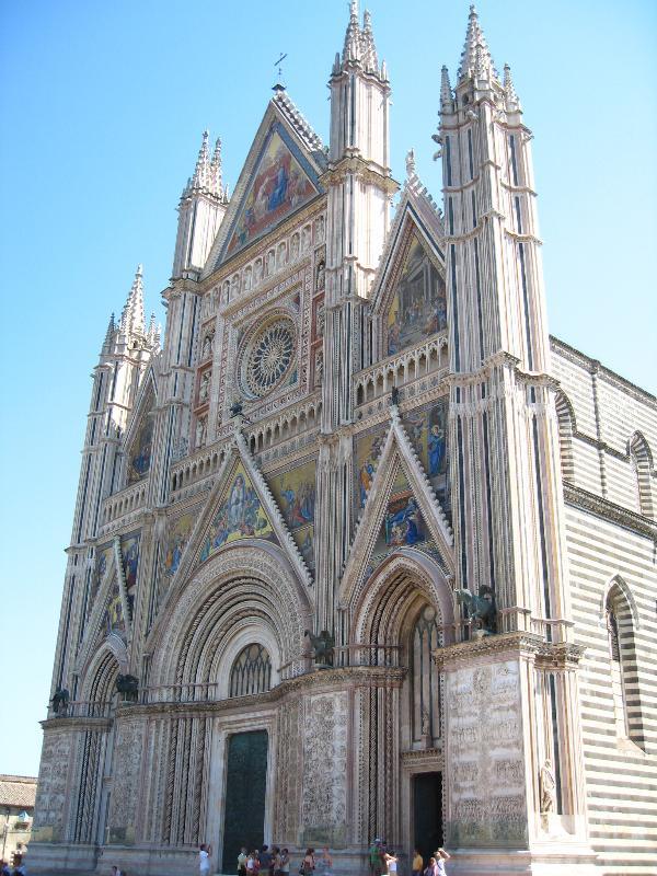 Facade of Orvieto Cathedral