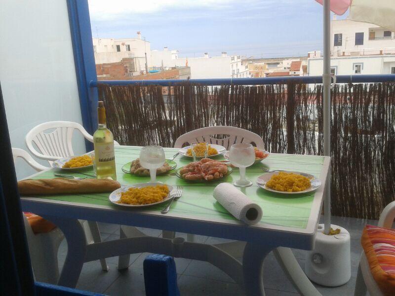 Dúplex en Garrucha con vistas al mar y montaña, vacation rental in Garrucha
