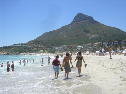 Camps Bay Beach, walking distance from the unit