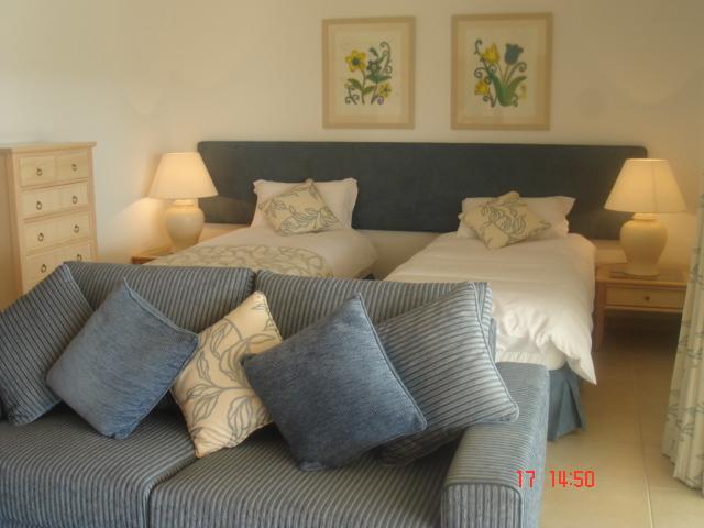 Ground Floor Bedroom (at pool level)