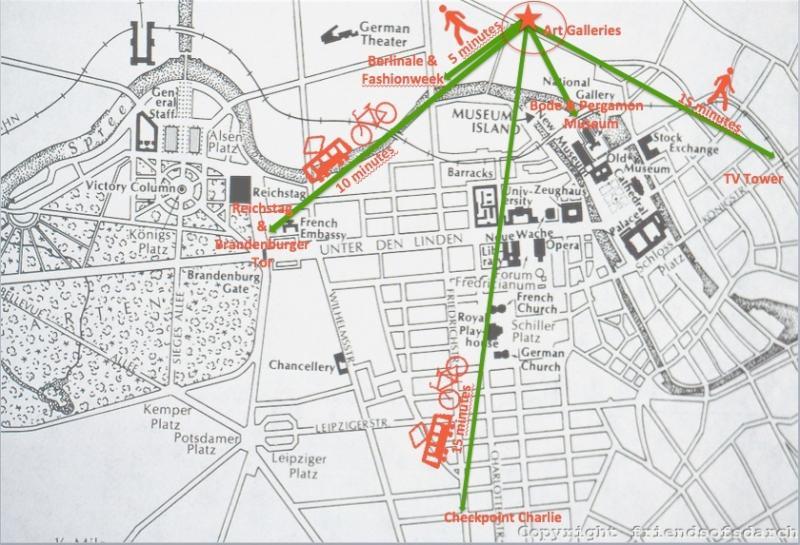Você pode chegar a principais atrações por pés ou transporte de curta distância; de outro tempo tempo metro áreas