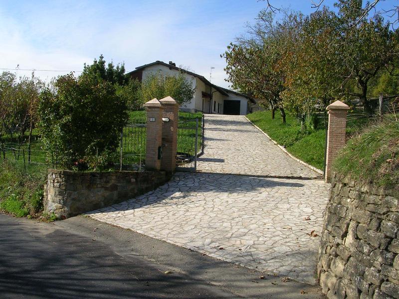 The entrance of Casa Borella