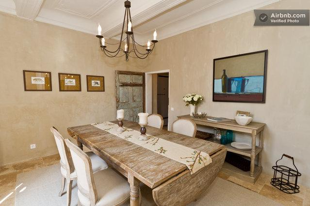 Dining Room - Setting for 6 Persons