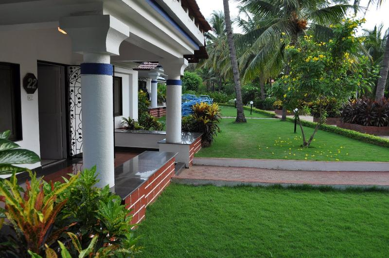Another view of the verandah from the front lawn