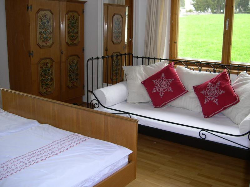 Bedroom 2 - a day bed can be added for a child (max age 12)