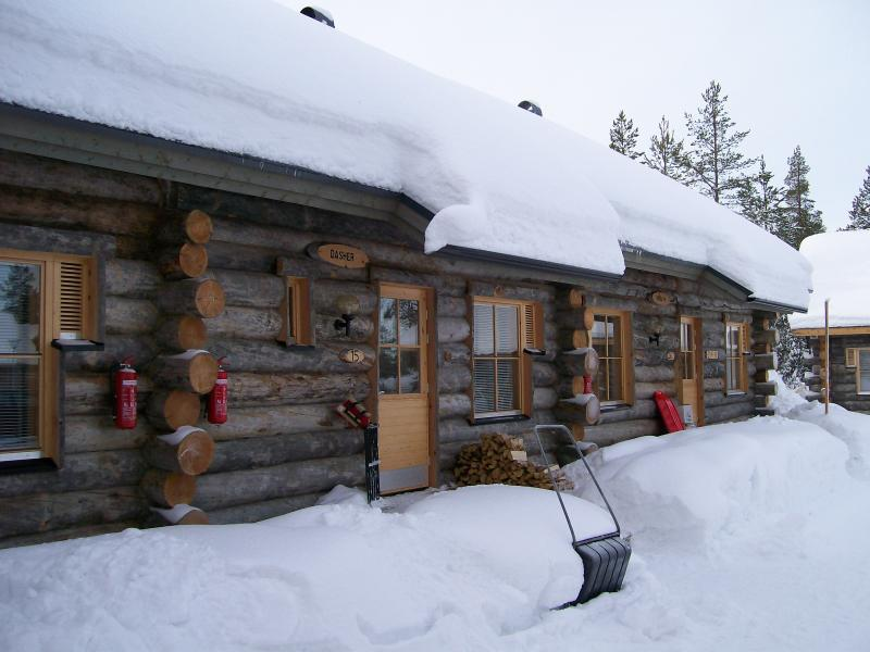 The cabin cosy in winter