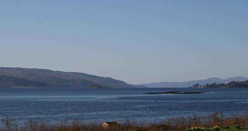 View of Loch Fyne from upstairs bedroom