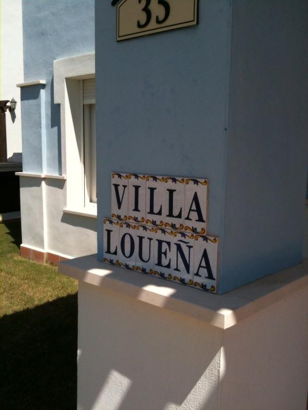 Villa Louena (Named after our chilren, Louis and Selena)