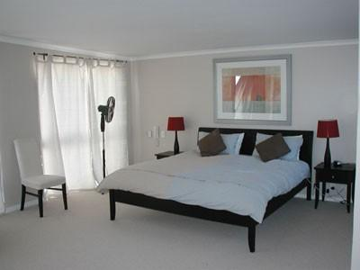 Master bedroom is enormous!