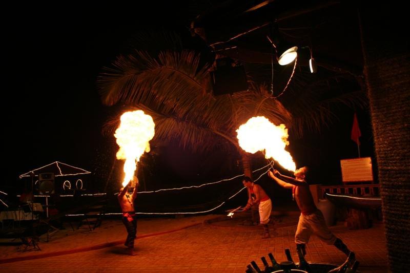 Fire Dancers on Varca Beach