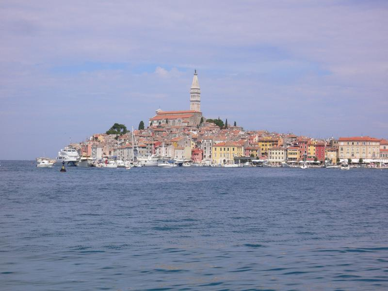 View of Rovinj Old Town