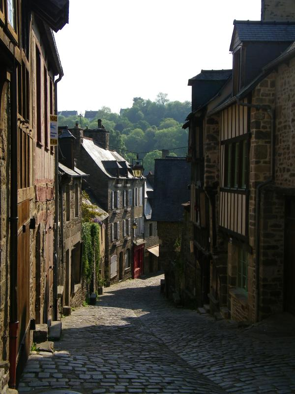 Nearby - Dinan, a beautiful historic town