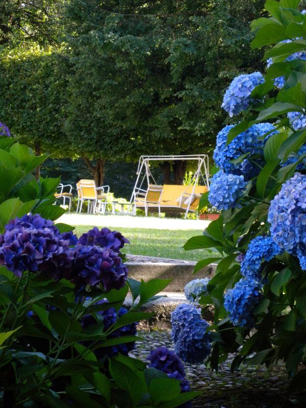 Villa Allegra - el jardín